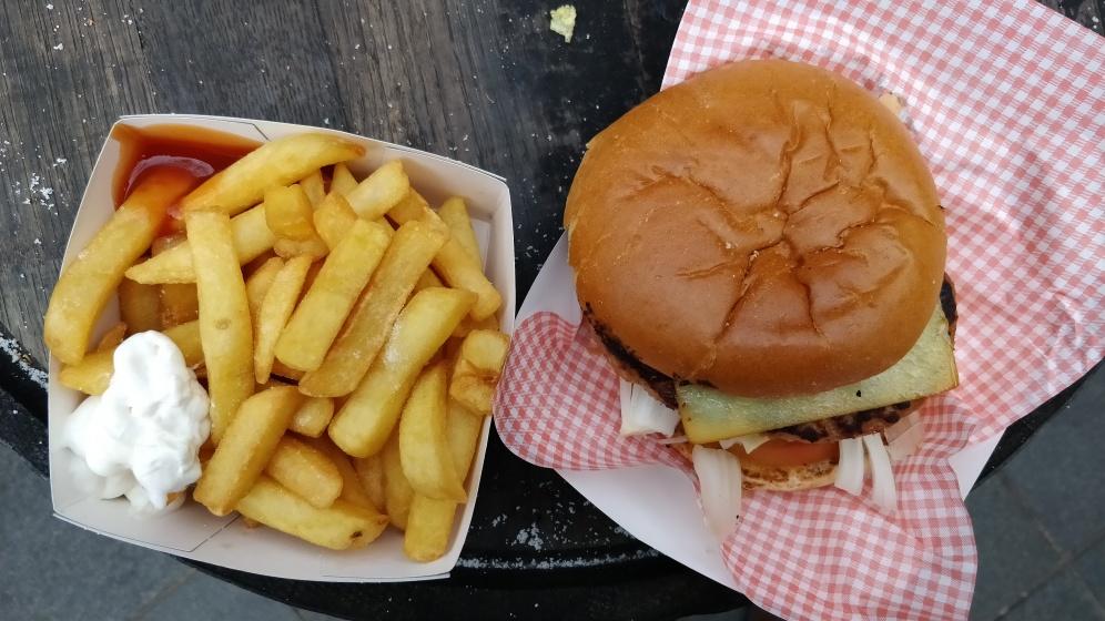 Boar Burger