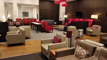 Club Lounge Gatwick Seating Area
