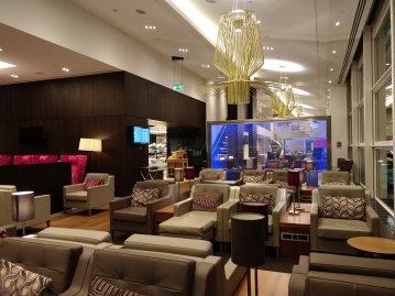 Club Lounge Gatwick Seating Area 2