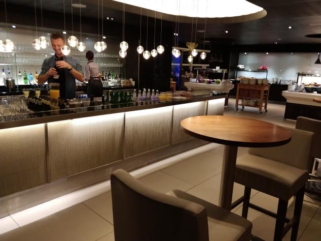 Buffet in Club Lounge Gatwick