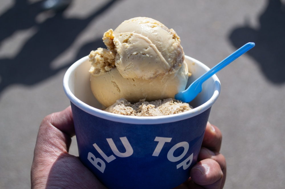 Blu Top - 2 scoops