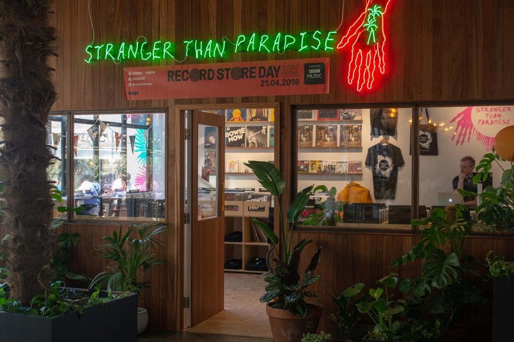 Mare Street - Record Shop